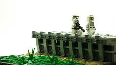 lego star wars_SoNE_EP1 (Gubi0222) Tags: lego starwars imperial outpost sone stormtrooper moc diorama