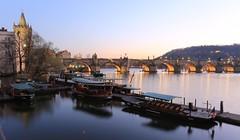 Prague Charlest Bridge (bennychun) Tags: prague praha praga czech czechrepublic europe euro vltava karlovmost oldtownsquare powdertower stvitus travel spring capital unesco heritage