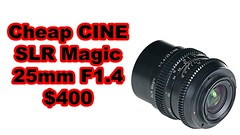 Sony Only, Better than Samyang?! SLR Magic Announces CINE 25mm F1.4 wide angle lens (hunter.peress) Tags: sony only better than samyang slr magic announces cine 25mm f14 wide angle lens