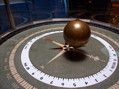 "Brass Ball of Foucault Pendulum • <a style=""font-size:0.8em;"" href=""http://www.flickr.com/photos/34843984@N07/14926061204/"" target=""_blank"">View on Flickr</a>"