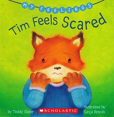 Tim Feels Scared (Vernon Barford School Library) Tags: new school fiction reading book tim high teddy emotion library libraries fear reads picture books super read paperback cover fox junior novel covers bookcover feeling pick middle fears vernon quick emotions foxes recent picks qr bookcovers feelings paperbacks picturebook sanja novels fictional picturebooks slater barford softcover quickreads quickread vernonbarford rescek softcovers superquickpicks superquickpick 9780545351799