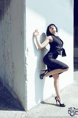 Rivi 1 (TravisHaight) Tags: california portrait black beauty fashion canon la photo losangeles dress legs naturallight romance haight madison heels editorial mk2 5d dslr allblack mkii rivi travishaight travishaightphotography