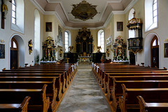 Schwetzingen church interior