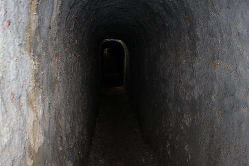 Un tunnel pédestre à Ecaussinnes