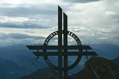 Gipfelkreuz der Rofanspitze (Uli - www.auf-den-berg.de) Tags: alps berg tirol berge alpen wandern tyrol wanderung gipfelkreuz rofan rofanspitze rofangebirge wanderntirol