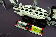7_Heavy_Mining_Unit_modular_container_system (LegoMathijs) Tags: lego space astronaut mining scifi shovel heavy drill containers miners unit legomathijs