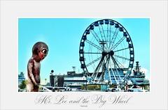 Mr. Pee and the Big Wheel (hellwi) Tags: pee wheel big helsinki eyes mr harbour hafen riesenrad peeing ferkel urinieren pinkeln
