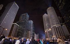 5B8A7763sw (Rasidel Slika) Tags: lighting city bridge chicago skyscraper marina river for this ross cool cityscape circus walk event tightrope nik slika wallenda delobbo rossimages rasidel skyscraperlive wallendalive