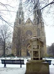 St Clotilde Cathedral  - Paris - By Amgad Ellia 08 (Amgad Ellia) Tags: paris st by cathedral amgad clotilde ellia