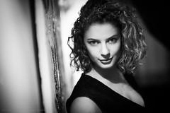 Teaser: Back with Philippine (Sylvain_Latouche) Tags: light portrait blackandwhite nikon actress d800 sylvainlatouche philippinemartinot