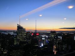 Night Invasion (EyelandGirl) Tags: newyorkcity ufo topoftherock rainbowroom