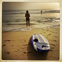 Surf Bored (jonwaz) Tags: beach portugal square europe surf surfboard algarve pt iphone galebeach iphoneography hipstamatic jonwaz