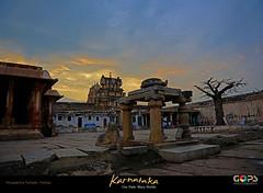 HAMPI : WHEN THE RUINS COME ALIVE.... (GOPAN G. NAIR [ GOPS Creativ ]) Tags: india history tourism photography ruins empire karnataka hindu hinduism hampi vijayanagar gops gopan vijayanagara gopsorg gopangnair gopsphotography