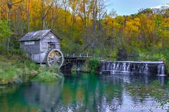 Hyde's Mill (Nic512) Tags: sunset fall wisconsin seasons unitedstates events places ridgeway feedmill hydewi publishmyphoto