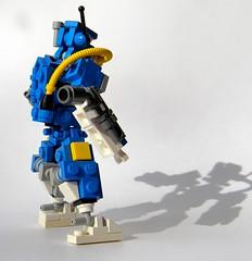 Mash up hazmat bot (jasro8) Tags: robot lego mech