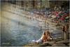 (0259/14) Al sol de septiembre (Pablo Arias) Tags: españa photoshop mar spain agua colours gente colores nikond50 alicante atardeceres hdr texturas benidorm smörgåsbord photomatix tamron18250 olequebonito greatmanipulart grouptripod olétusfotos goldenvisions pabloarias