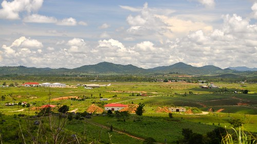 Phonsavanh Airport from Plain of Jars site #1
