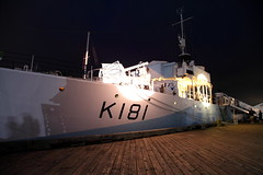 HMCS Sackville under the lights, #Nocturne,  Halifax Nova Scotia (internat) Tags: canada night novascotia ns halifax nocturne 2014 hmcssackville k181