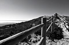 Portogallo - Cabo da Roca - Oceano Atlantico (rosella sale) Tags: bw sintra ombre pietre luci paesaggio portogallo cabodaroca oceanoatlantico obliquo steccato rosellasale