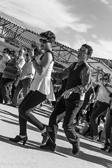 Swing en Matadero-3104.jpg (Pedro Rufo Martin) Tags: madrid espaa fashion rock vintage swing mercado roll baile rockandroll matadero