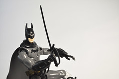 Bat ... Cutlass? (skipthefrogman) Tags: fun toy action figure batman kit bandai spru sprukits