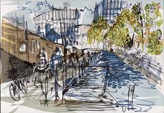 Regents Canal Kings Cross London. (juliebolus) Tags: