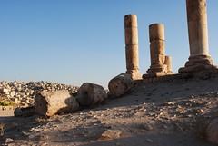 (jenny-bee) Tags: blue brown citadel amman jordan