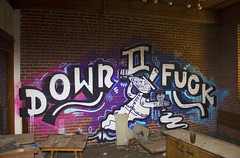 DOWN TO FUCK (Rodosaw) Tags: st graffiti louis fuck down to dtf