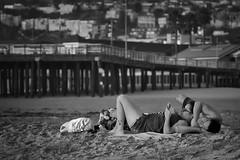 No Place I'd Rather Be... (anglouise) Tags: california ca blackandwhite bw beach photoshop blackwhite adobephotoshop software centralcoast pismobeach postprocessing tonality adobelightroom adobephotoshoplightroom worldwidephotowalk wwpw macphun tonalitypro wwpw2014