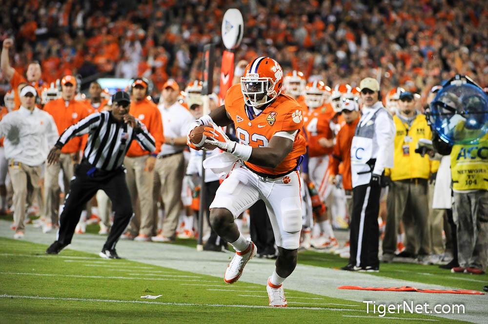 Clemson Photos: 2011, accchampionship, Dwayne  Allen, Football, Virginia  Tech