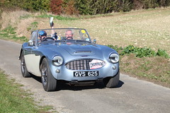 Austin Healey 100/6 (Rally Pix) Tags: austin champagne rally healey 2014 1006