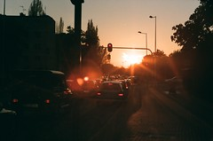 04650028 (Szymon Jagielski) Tags: light sunset sun traffic zenit lodz zenit12xp 12xp ldz