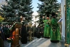 4. Освящение часовни преподобных Арсения и Германа Святогорских