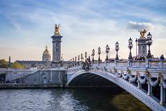 Pont Alexandre III (Matthieu Plante) Tags: bridge paris france seine river europe invalides pont fleuve alexandreiii