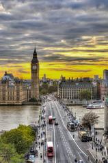 Big Ben (fotopierino) Tags: london westminster canon big tramonto ben londra hdr 24105 fotopierino