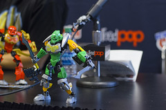 New York Comic-Con Trip (dviddy) Tags: new york nyc newyorkcity newyork toy lego manhattan statueofliberty bionicle constraction 2015 nycc newyorkcomiccon bzpower arkov nukaya kevinhinkle blacksix herofactory kakaru dviddy bionicle2015 tufipiyufi tomdracone bioniclerex