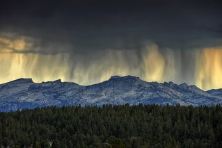 Storm over the Sierras