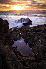 c a s c a d e | bean hollow, california (elmofoto) Tags: pescadero california unitedstates sunset seascape pacificocean coast cascade longexposure le landscape sanfrancisco gogiants sfbayarea elmofoto lorenzomontezemolo nikon d800 nikond800 1635mm northerncalifornia rock veil wave fav100 fav200 fav300 fav400 fav500 fav600 fav700 50000v