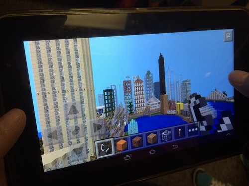 Minecraft Builds by Edgar (4th grade) by Wesley Fryer, on Flickr