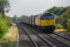 47_727_Tamworth_09_09_14 (chrisbe71) Tags: steel duff tamworth class47 47727 colasrail 6e07