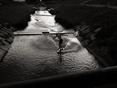 Alaia Surf in River (OLDLENS24) Tags: surf wake board skate wakeboard wakesurf wakeskate