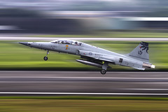 Northrop F-5F 'Malataw' (Mark Rourke) Tags: aircraft tiger taiwan aeroplane f5 hualien trainer twoseater avaition freedomfighter republicofchina rocaf f5f