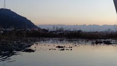 Dal Lake (Rckr88) Tags: sunset india lake water asia dal kashmir srinagar dallake