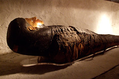 """Mummy with Gilt face • <a style=""""font-size:0.8em;"""" href=""""http://www.flickr.com/photos/34843984@N07/15516406796/"""" target=""""_blank"""">View on Flickr</a>"""