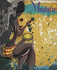 MULATA EN SOL MAYOR (planeta urazan) Tags: africa afro blackgirl africana mulata afrogirl africangirl afrocolombiana mujerafricana
