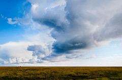 gewitterfront (jochenlorenz_photografic) Tags: sky storm nature rain clouds germany landscape holidays outdoor natur himmel wolken nordsee thunder schleswigholstein gewitterfront