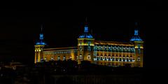 Toledo Alcazar por la noche (julia.theobald) Tags: toledo