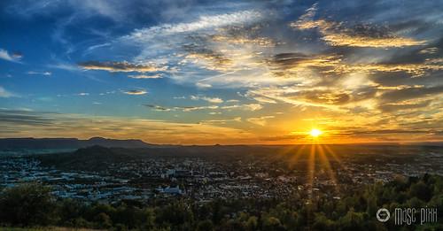 October Sunset Achalm