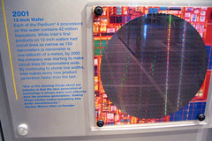 "Circular 12in Pentium 4 wafer • <a style=""font-size:0.8em;"" href=""http://www.flickr.com/photos/34843984@N07/15546198035/"" target=""_blank"">View on Flickr</a>"