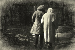 Remember your loved ones (irina_escoffery) Tags: street old people candid